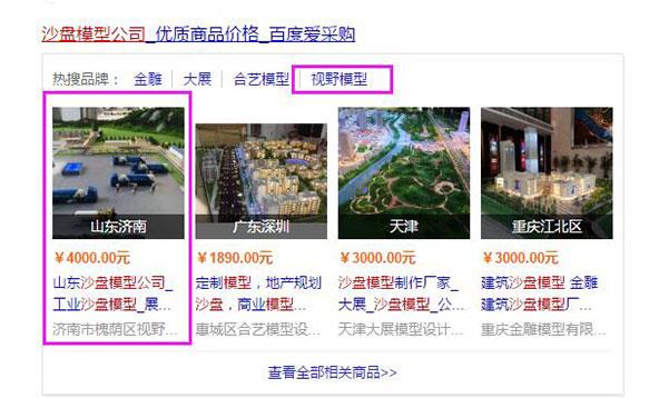 济南网站优化:沙盘模型公司